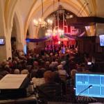"""Uitverkochte Nicolaas kerk tijdens het jubileum concert met als Thema """" Jozef"""" foto: Wilbert Hoogland"""